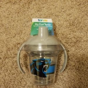 NWT Carolina Panthers Tervis Sippy Cup